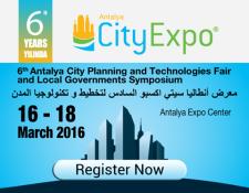Antalya City Expo Fuar (16-18 Mart 2016)
